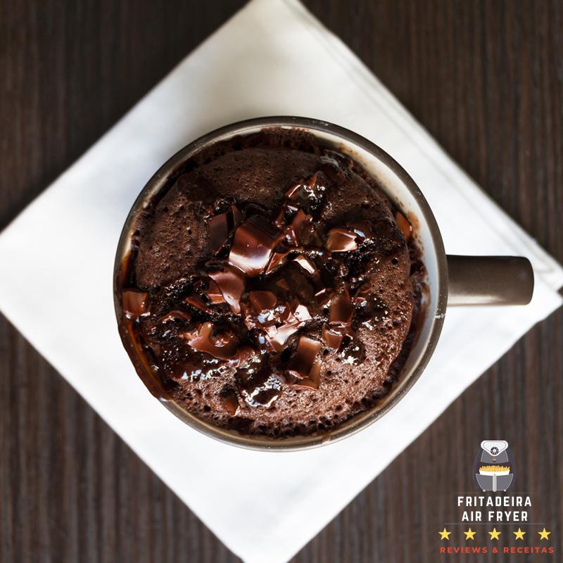 fazer-bolo-chocolate-na-airfryer