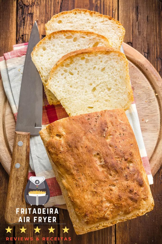 Como fazer pão na Air Fryer