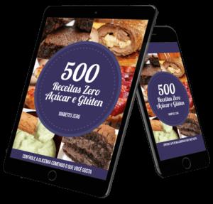 500 receitas zero açúcar e gluten funciona